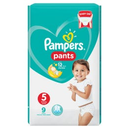 Pampers Pants Carry Pack Size (5)  9 Pants