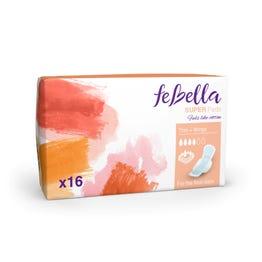 Febella  Thin Super Pads X16