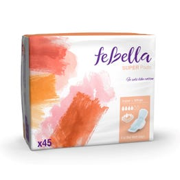 Febella  Super Pads X45