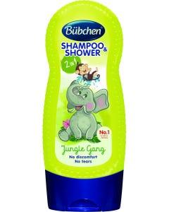 Bubchen Shampoo & Shower Gel Kids Jungle Gang 230 ml