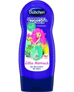 Bubchen Shampoo&Shower Gel&Conditioner Little Mermaid 230 ml