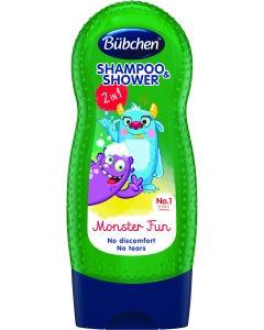 Bubchen Shampoo & Shower Gel Kids Monster Fun 230 ml