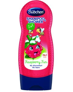 Bubchen Shampoo & Shower Gel Kids Raspberry Fun 230 ml