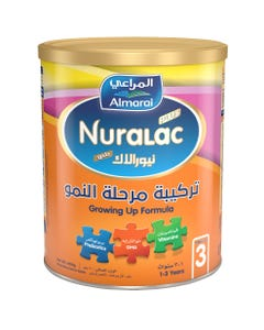 Nuralac Plus Milk (3) Growing Up 400 gm