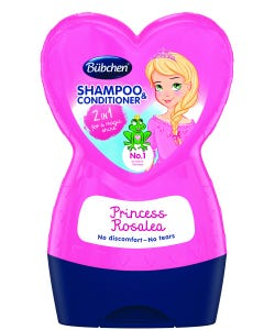 Bubchen Shampoo & Conditioner Kids Princess Rosalea 230 ml