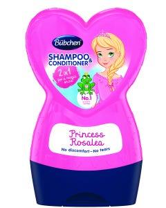 Bubchen Shampoo & Conditioner Kids Princess Rosalea 230 ml