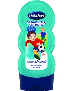 Bubchen Shampoo & Shower Gel Kids Sports Friend 230 ml