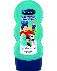 Bubchen Shampoo & Shower Gel Kids Sports Friend 230 ml