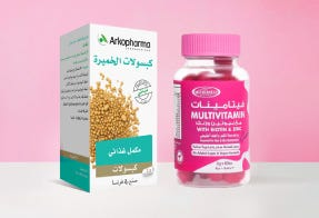 Beauty Supplements Card Ar