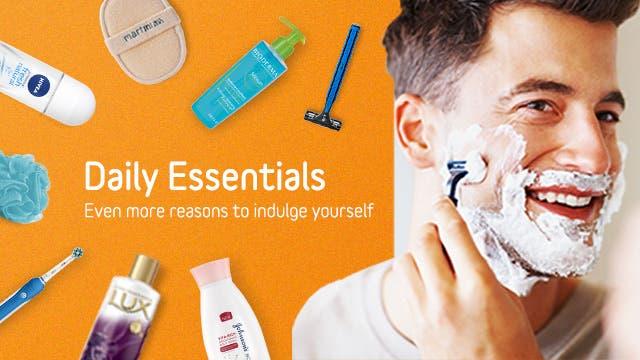Daily Essentials Banner EN