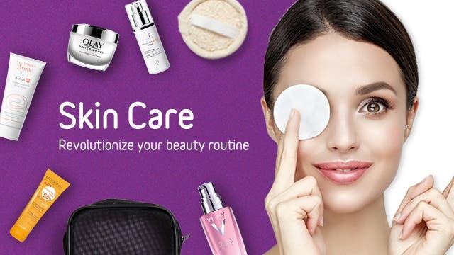 Skin Care Cat banner En