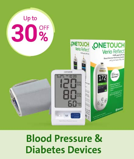 Health Card - Blood Pressure & Diabetic Devices En