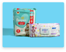 Diapers and Wipes Card En
