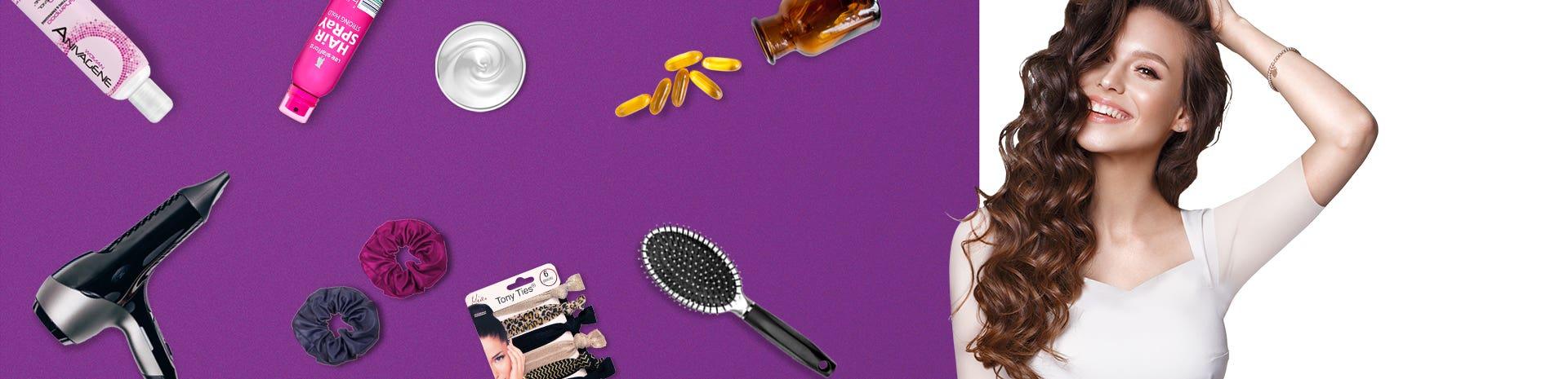 Hair Care Banner EN