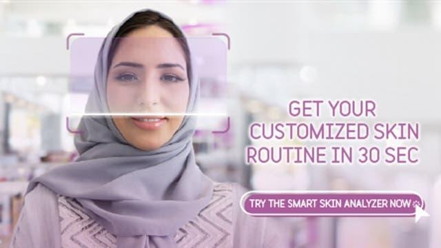 Skin Advisor banner En