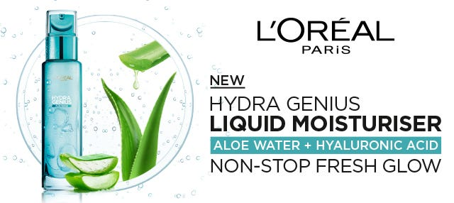 New from Loreal Hydra Genius Line