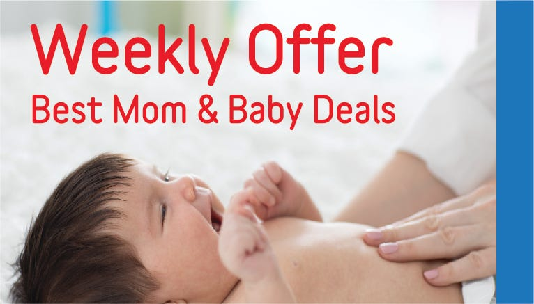Mom & Baby Weekly Deals