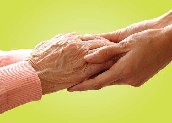 الرعاية بكبار السن